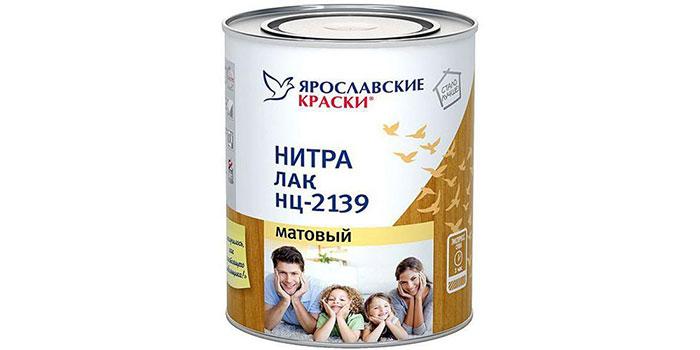 Лак Ярославские краски НЦ-2139
