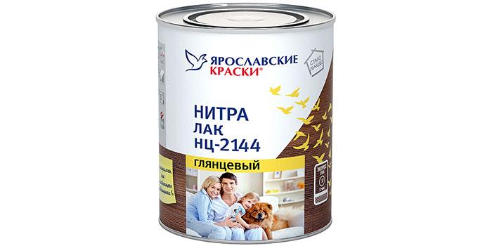 Лак Ярославские краски НЦ-2144